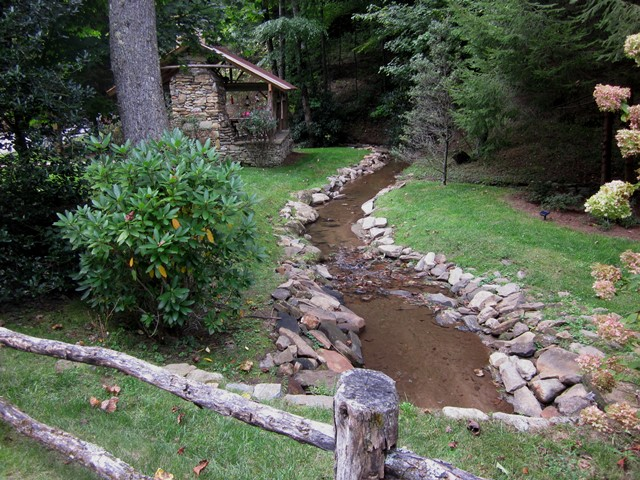Creek by the Creek House