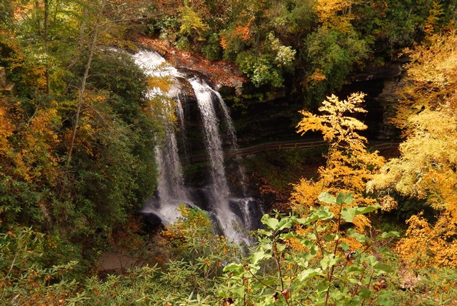 Dry Falls in autumn